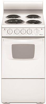 Amana 20-Inch 2.6 Cu. Ft. Free-Standing Electric Range' White