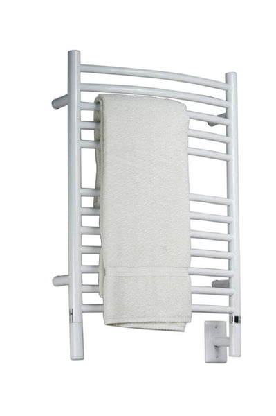 Amba Jeeves E Curved Towel Warmer - ECW White