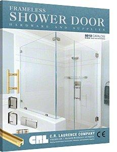 C.R. LAURENCE SD12 CRL SD12 Frameless Shower Door Hardware and Supplies Catalog