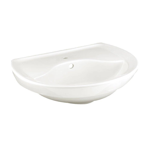 American Standard 0268.001.020 Ravenna Pedestal Sink Basin with Center...