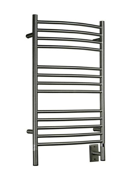 Amba Jeeves C Curved Towel Warmer - CCB Brushed