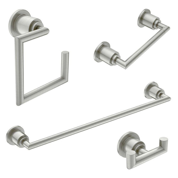 Moenl|#Moen KA-ARR-4-BN Moen Arris 4-Piece Acessory Kit, Brushed Nickel,