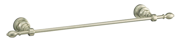 KOHLER K-6816-BN IV Georges Brass 18-Inch Towel Bar, Vibrant Brushed Nickel