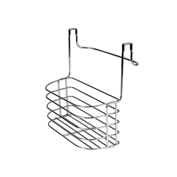 Spectrum Diversified 81270, Duo Over-the-Cabinet Towel Bar and Medium Basket, Chrome