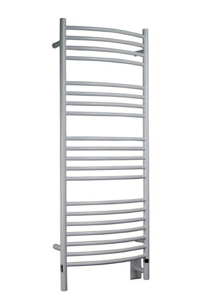 Amba Jeeves D Curved Towel Warmer - DCW White