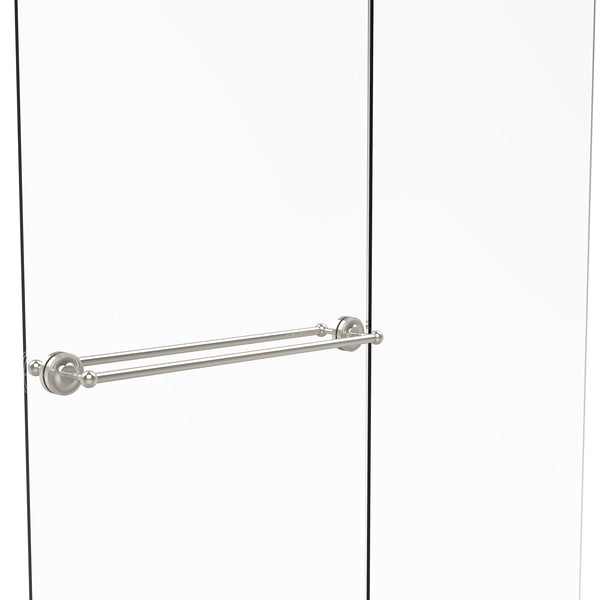 "Allied Brass PR-41-BB-30-PNI Prestige Regal Collection 30"" Back To Back Shower Door Towel bar,"