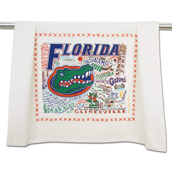 Catstudio University of Florida CollegiateDish & Hand Towel | Beautiful Award Winning Home Decor Artwork | Great For Kitchen & Bathroom