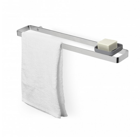 Scillae Wall Mount Hand Towel Bar, Chrome