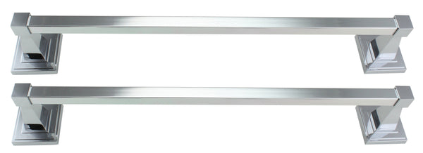 "Danze Bellagio Chrome 18"" Towel Bar Set - 2 Pack"