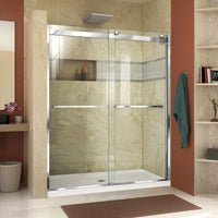 DreamLine Essence-H 44-48 in. W x 76 in. H Semi-Frameless Bypass Shower Door
