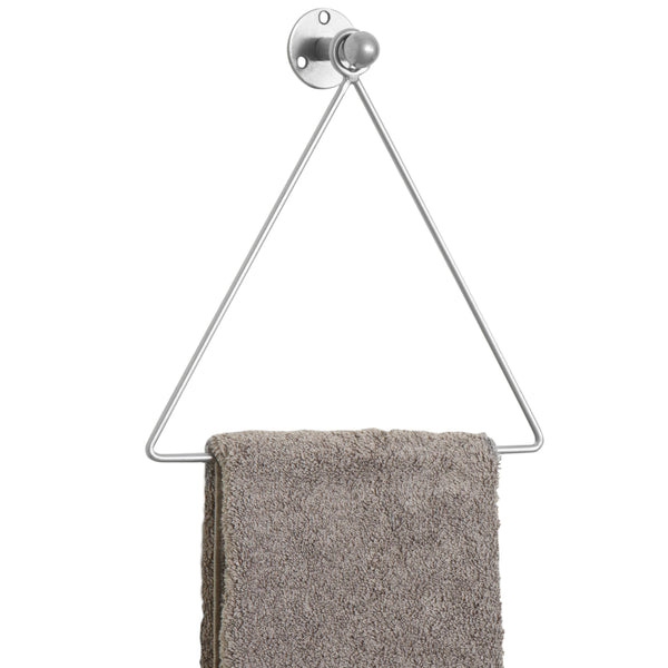 Triangle Shaped Chrome Hand Towel Rack