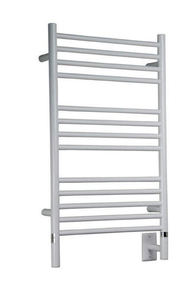 Amba Jeeves C Straight Towel Warmer - CSW White