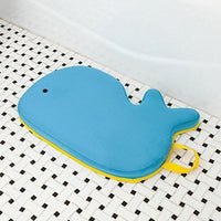 Mykee Moby Baby Bath Kneeler Pad, Blue