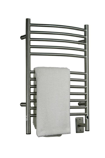 Amba Jeeves E Curved Towel Warmer - ECB Brushed