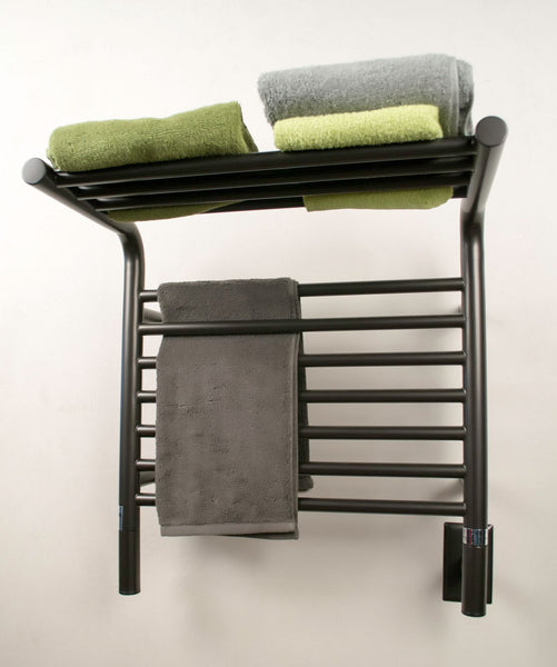 Amba Jeeves M Shelf Straight Towel Warmer - MSO Oil Rubbed Bronze