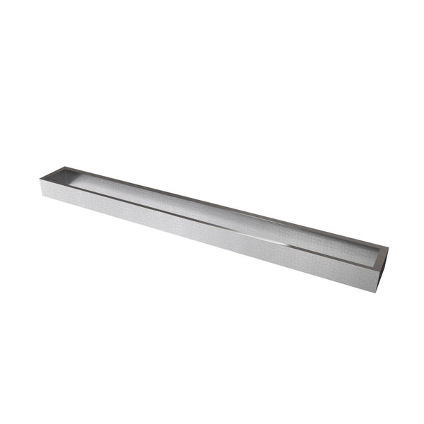 "Erupt 25"" Towel Bar, Brushed Nickel, Volkano Series"