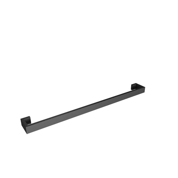 "Fire 25"" Towel Bar, Matte Black, Volkano Series"