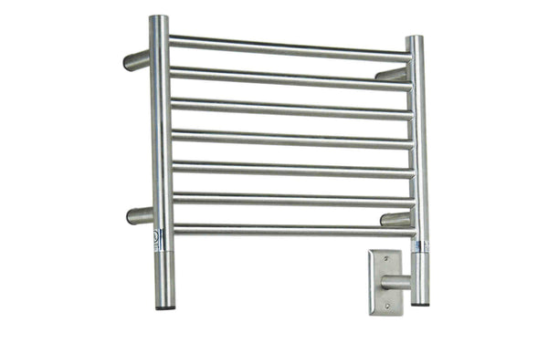Amba Jeeves H Straight Towel Warmer - HSB Brushed
