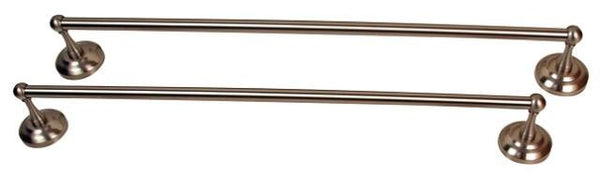 Moen Brighton Pewter 24-inch Towel Bars (Set of 2) P5
