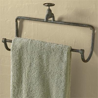 Water Faucet Towel Bar