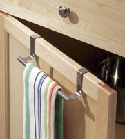 Brushed Stainless Steel Forma Over the Counter Towel Bar