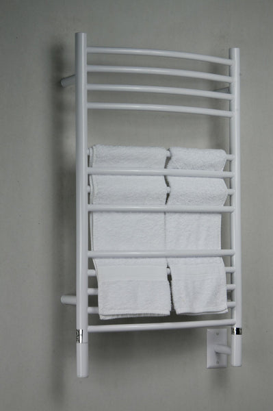 Amba Jeeves C Curved Towel Warmer - CCW White
