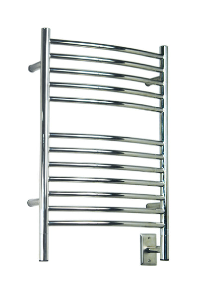 Amba Jeeves E Curved Towel Warmer - ECP Polished