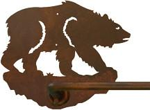 "Brown Bear 18"" Hand Towel Bar"