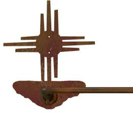 "New Mexico Sun Design 18"" Hand Towel Bar"