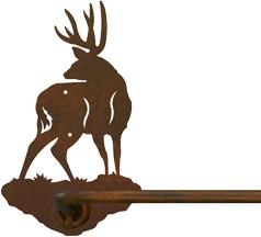 "Mule Deer 18"" Hand Towel Bar"