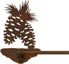"Pine Cone Design 18"" Hand Towel Bar"