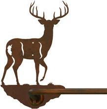 "White Tail Deer 27"" Towel Bar"