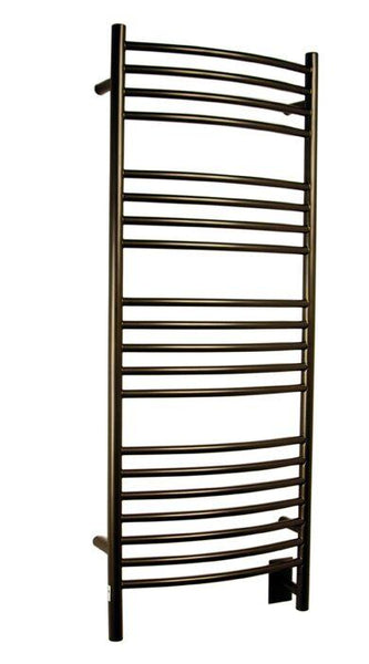 Amba Jeeves D Curved Towel Warmer - DCO Oil Rubbed Bronze