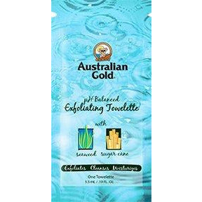 Australian Gold Exfoliating Towelette .24oz