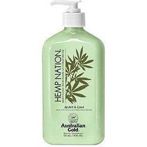 Hemp Nation Agave & Lime Tan Extender Age Defying Blend 18oz