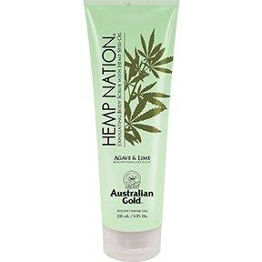 Hemp Nation Agave & Lime Body Scrub w/ Agave Lime and Sea Salt 8oz