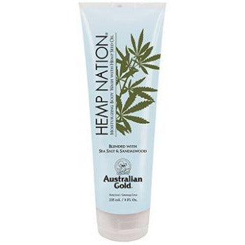 Hemp Nation Sea Salt & Sandalwood Body Wash 8oz