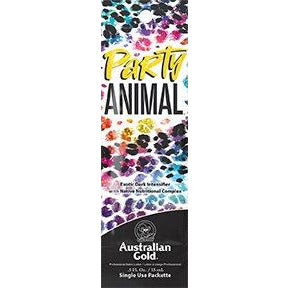 1 packet Party Animal Exotic Dark Intensifier With Native Nutritional Complex & Tattoo Guard .5oz