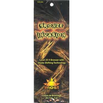 1 packet Bronze Invasion Level 25xBronzer w/Shade Shifting Technology .7oz