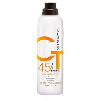 California Tan SPF 45 Face Mousse 5oz TOP SELLER!