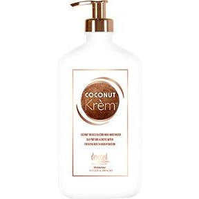 Coconut Krem Moisturizer Silk Proteins & Cactus Water 4 Ultra Rich 24 Hour Hydration 18oz
