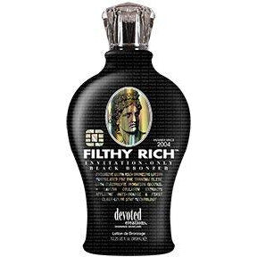 Filthy Rich Ultra Rich Black Bronzer 12.25oz COLOR of LOTION is SUPER DARK