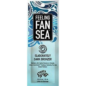 1 packet Feeling FanSea Dark DHA Bronzer w/Tattoo ColorShield Technology .75 oz