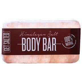 Get Salted Himalayan Salt Body Bar 11oz NEW!