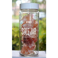 Get Salted Sole Jar Himalayan Salt Crystals 14oz NEW!