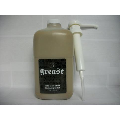 Grease 50x Jet Black Bronzer & Advanced Skin Care 64 oz PLUS  20% off