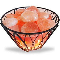Get Salted Himalayan Salt Stone Warmer - WIRE FRAME Includes 20 Stones  NEW!