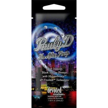 1 free packet Pauly D The After Party Intense Black Silicone Bronzer .5oz