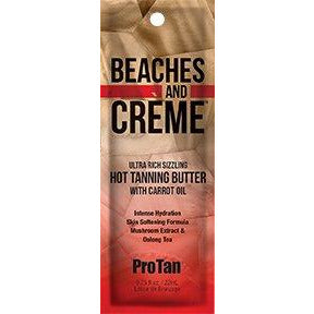 1 packet Beaches & Creme Sizzling Butter Tyrosine Plus Skin Stimulators .75oz TOP SELLER!