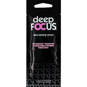 1 packet Rsun OC Deep Focus Advanced Dark Cool Bronzer .7oz